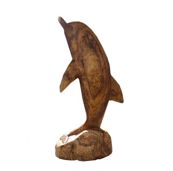 Delfin de Marmol de Ola 30cm.