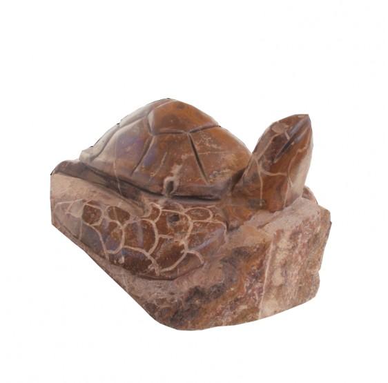 Tortuga grande de marmol