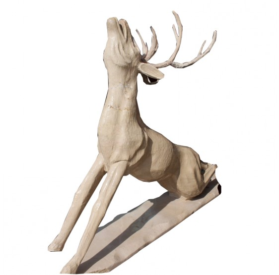 Deer Marble Sculpture