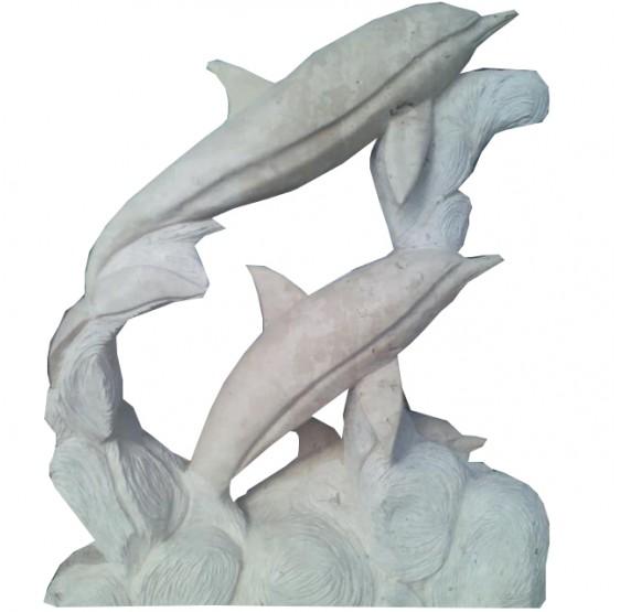 delfin para fuente