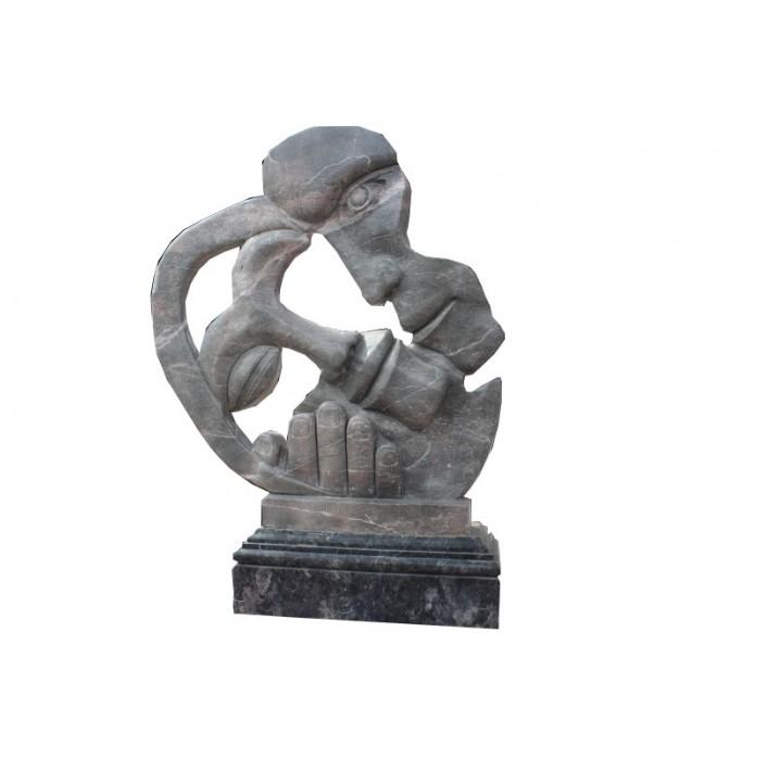 Esculturas y decoracion moderna el delfin dorado Esculturas decoracion
